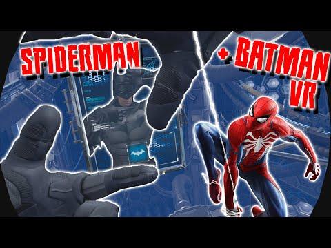 Spiderman Si Batman In VR