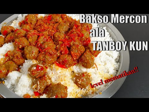 SADIS!! TANBOY KUN MUKBANG BASO MERCON LEVEL MEMATIKAN