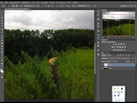 Как изменить размер накладываемого изображения в фотошопе