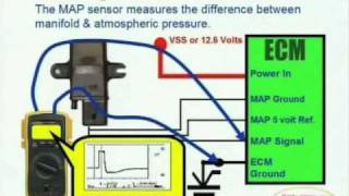 MAP Sensor & Wiring Diagram