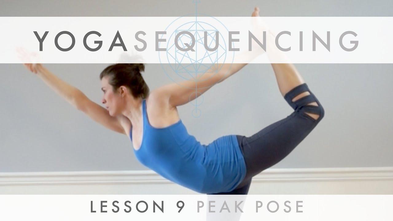 Yoga Sequencing Lesson 32 - Peak Pose