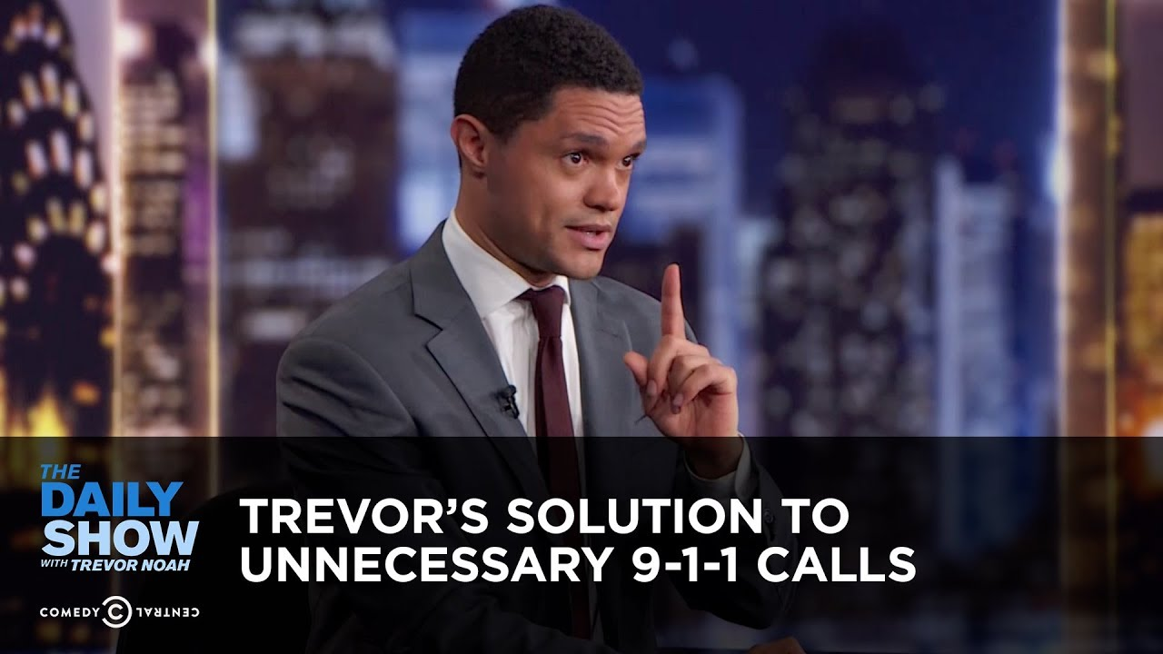 trevor-s-solution-to-unnecessary-9-1-1-calls-between-the-scenes-the-daily-show