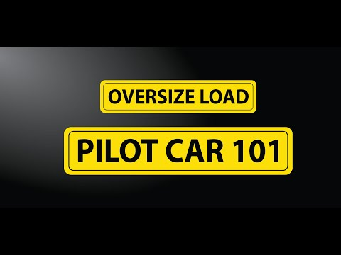 Pilot Car Business - How To Make $500 And More A Day!
