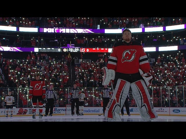 NHL unites for Hockey Fights Cancer light show