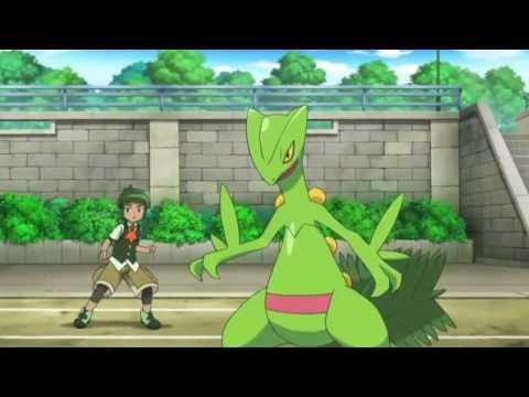 Pokemon green ninja and ash fusion [AMV]