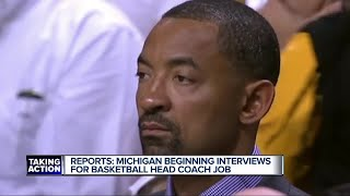 Michigan beginning interviews for head coaching job