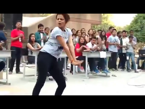 college girl dance on ye duniya pittal di song awesome dance AJ vevo