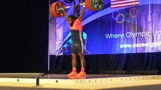 USA Weightlifting Nationals 2014 - 94 kg C&J