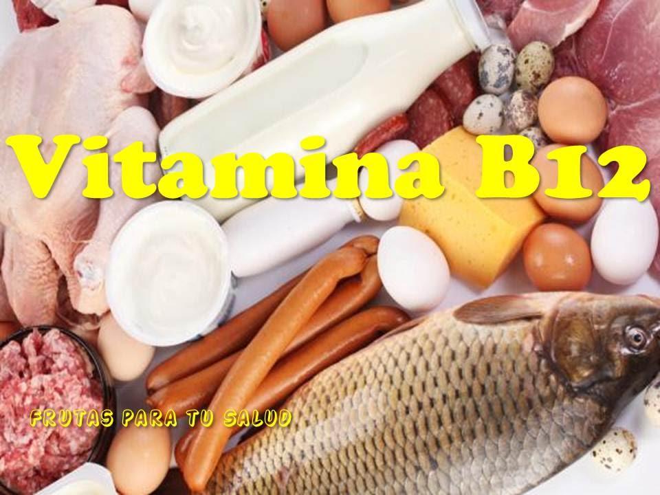 LA VITAMINA B12 - IMPORTANTE Y NECESARIO PARA EL CUERPO