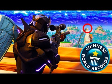 *WORLD RECORD* TIRO LEJANO en Fortnite - TheGrefg
