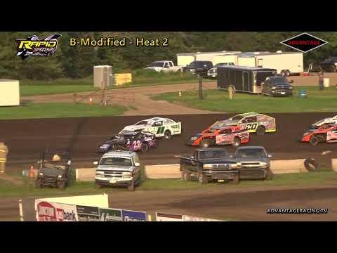 B-Modified Heats - Rapid Speedway - 7/6/18
