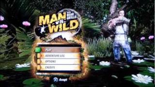 Man Vs Wild Game Review PS3 - Xbox 360