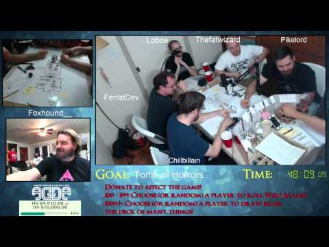 AGDE 2015 - Dungeons & Dragons: Tomb of Horrors (Pt. 1)