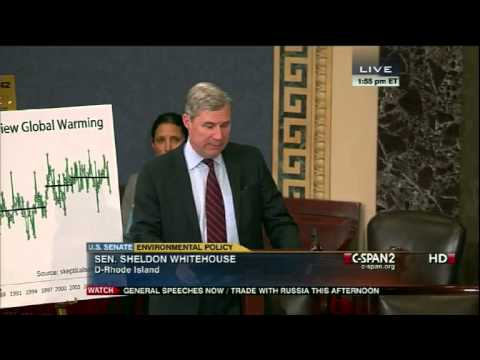 Sheldon Whitehouse Calls Out Colleagues for Ignoring the Climate Cliff