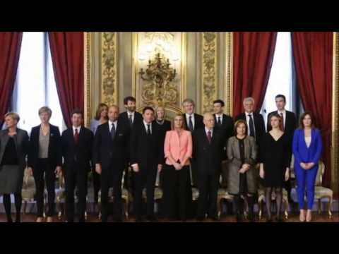 Italy PM Matteo Renzi  Vows  radical change - 24 February 2014