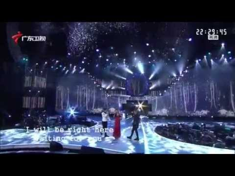 Yun Huang performs in 金曲集结号 hosted by Guangdong Channel