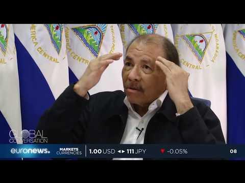 Euronews interviews Nicaragua's president Daniel Ortega on country's deadly crisis