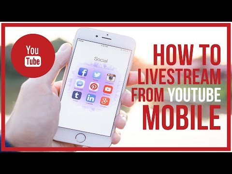 How To Live Stream On YouTube MOBILE - Start To Finish 🔴