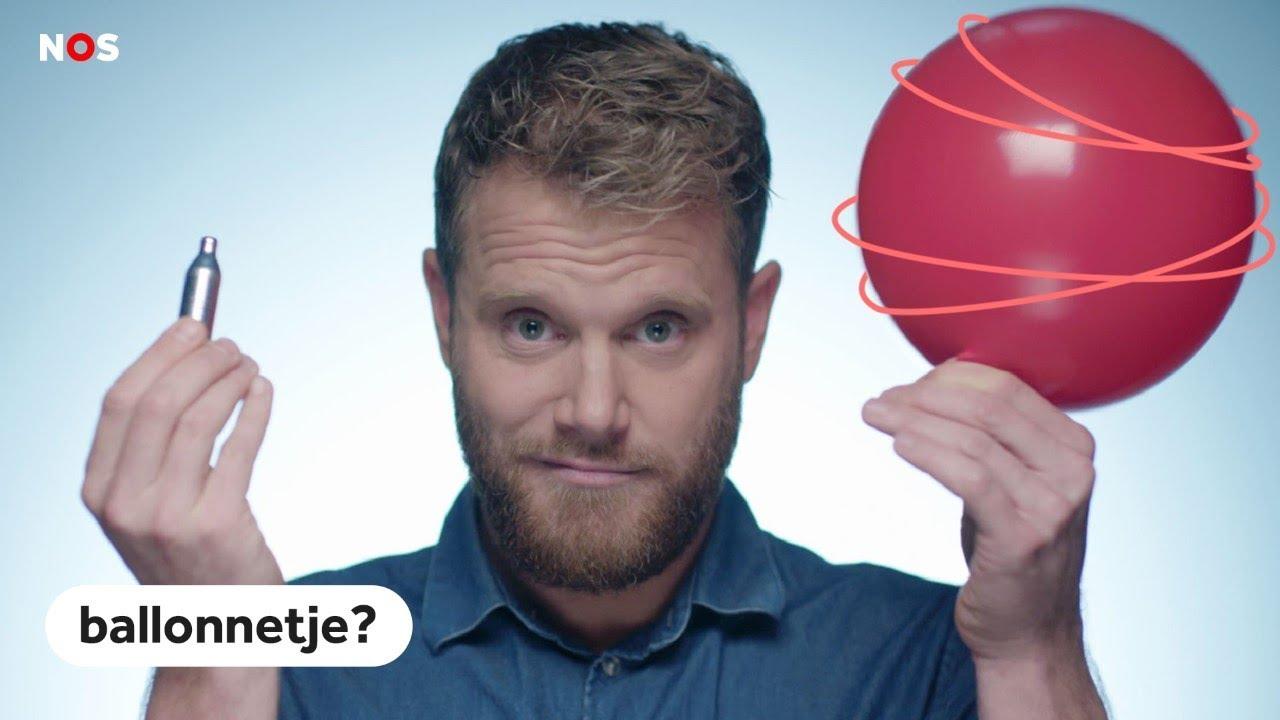 De wazige wereld achter je lachgasballonnetje