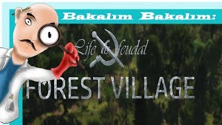 """"""" BAKALIM BAKALIM / İLK BAKIŞ / ANILAR """" - Life İs Feudal Forest Village Türkçe / 1"""