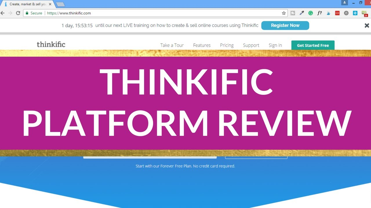 Thinkific Course Creation Software Coupon Voucher Code April 2020