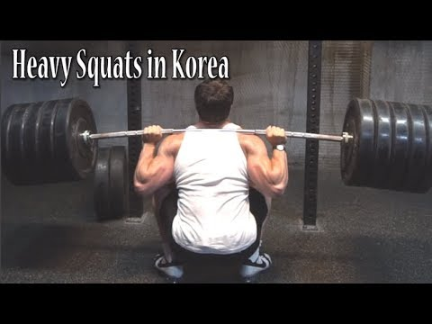 Squatting Heavy and Tricking in Seoul - Part 2