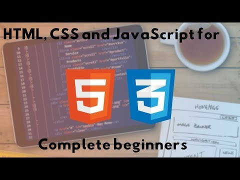 HTML, CSS And JavaScript For Complete Beginners (037 HTML   Java Script)