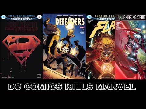 MARVEL COMICS VS  DC COMICS  HOW TO MESS UP MERRY MARVEL MARCHING MEMORIES COMIC BOOK REVIEWA