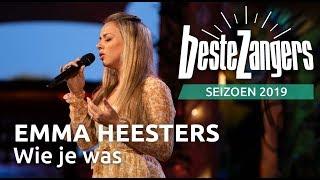 Emma Heesters  - Wie je was   Beste Zangers 2019