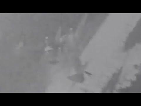 Luftwaffe FW190 Ju88 Mistel Piggyback Planes Shot Down Gun Camera Footage WW2