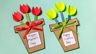 Mother's Day Card Making | Easy Summer Craft Ideas | Card Making | By Punekar Sneha