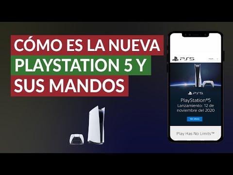 ¿Cómo es la Nueva PlayStation 5 y sus Mandos? – Precio y Características Completas