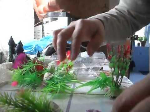 Пластиковые растения своими руками