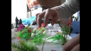 Искусственные растения для аквариума - посылка из Китая