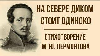 «На севере диком стоит одиноко» М. Лермонтов. Анализ стихотворения