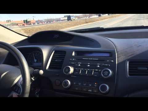 2009 Honda Civic 5 Speed, Gray