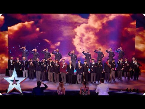 Wartime choir The D-Day Darlings take on Vera Lynn CLASSIC at the Final! | The Final | BGT 2018