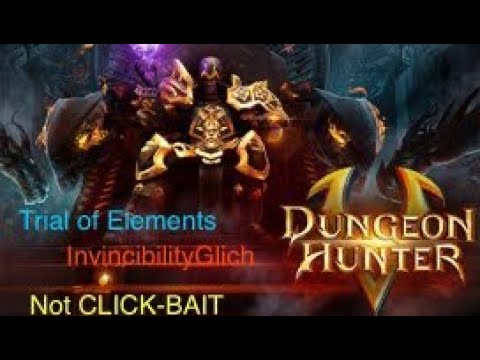 Dungeon Hunter 5 Trial Of Elements Invincible Bug