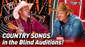 TOP 10COUNTRY SONGS that make The Voice CHAIRS spin like crazy