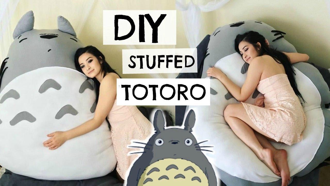 Diy Totoro Plushie Sew Amp Tell Youtube