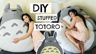 DIY TOTORO PLUSHIE | sew&tell thumbnail