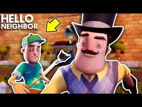 The Neighbor BECAME THE MAYOR!!! | Hello Neighbor Gameplay (Mods)