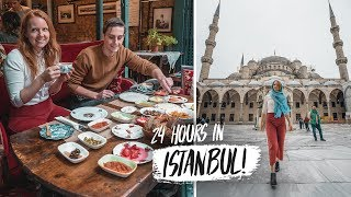 24 Hours In ISTANBUL! - Top Things You HAVE To Do in Istanbul, Turkey