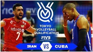 IRAN vs CUBA | Highlights Men | Volleyball Olympic Qualification 2019 (HD)