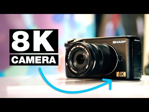 World's First Affordable 8K Video Camera? — Sharp 8K Micro Four Thirds