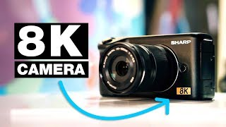 World's First Affordable 8K Video Camera? — Sharp 8K Micro Four Thirds(, 2019-01-11T16:25:16.000Z)