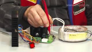 видео Стабилизатор напряжения на мощном полевом транзисторе 13В (IRLR2905)