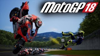 MotoGP 18 FIRST GAMEPLAY