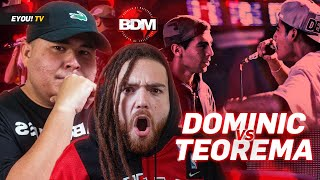 """¡NO LO RECORDABA TAN INJUSTO!"" - Analizando DOMINIC vs TEOREMA - Jony Beltrán, Yoiker y Tess La"