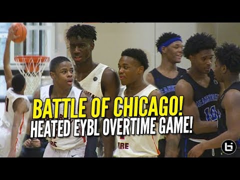 BATTLE OF CHICAGO NEEDS OVERTIME AT EYBL! Chase Adams, Kahlil Whitney. Mac Irvin vs Meanstreets!